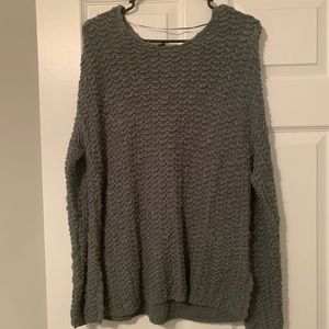 Pacsun army green sweater